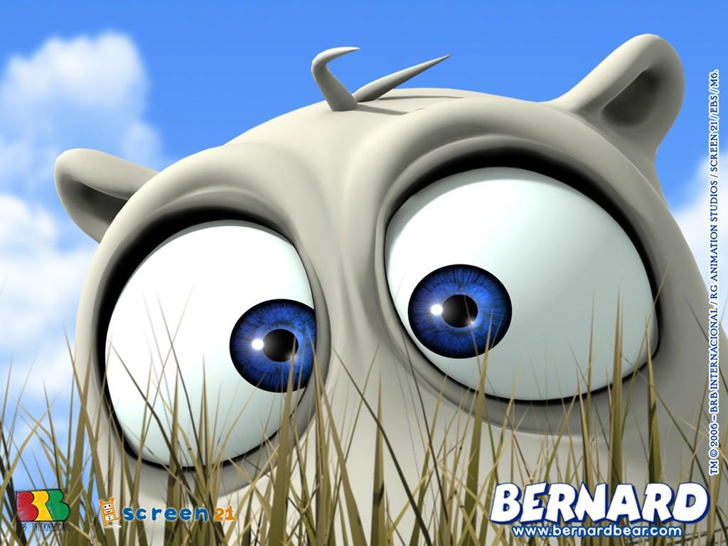 Gambar Kartun Bernard Bear